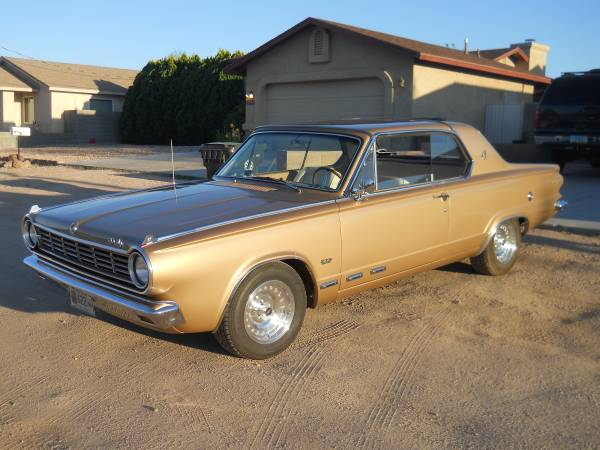 Daily Turismo Restomod Hardtop 1965 Dodge Dart