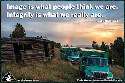 Image is what people think we are. Integrity is what we really are. –John C Maxwell