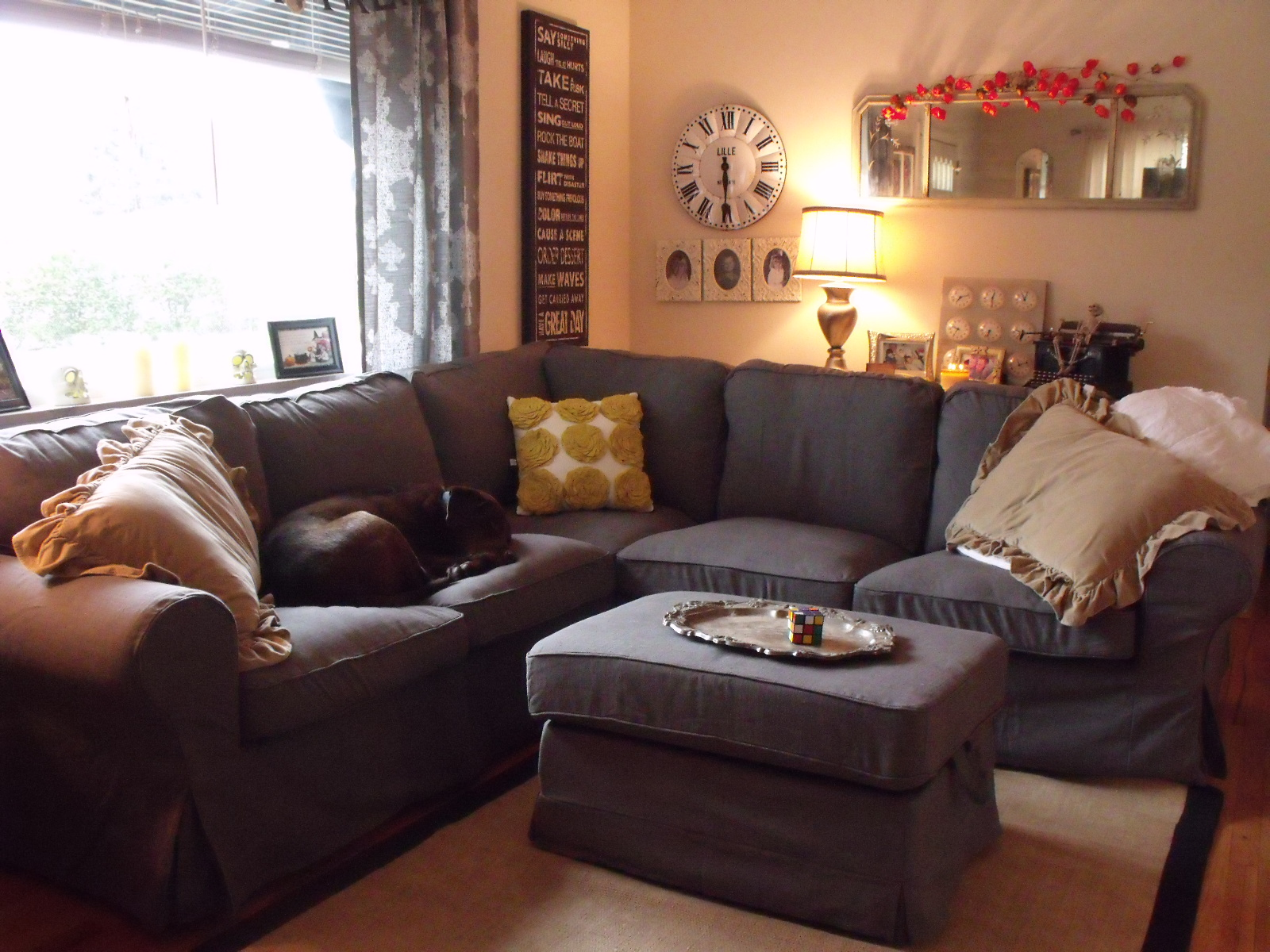 Image Result For Sectional Living Room