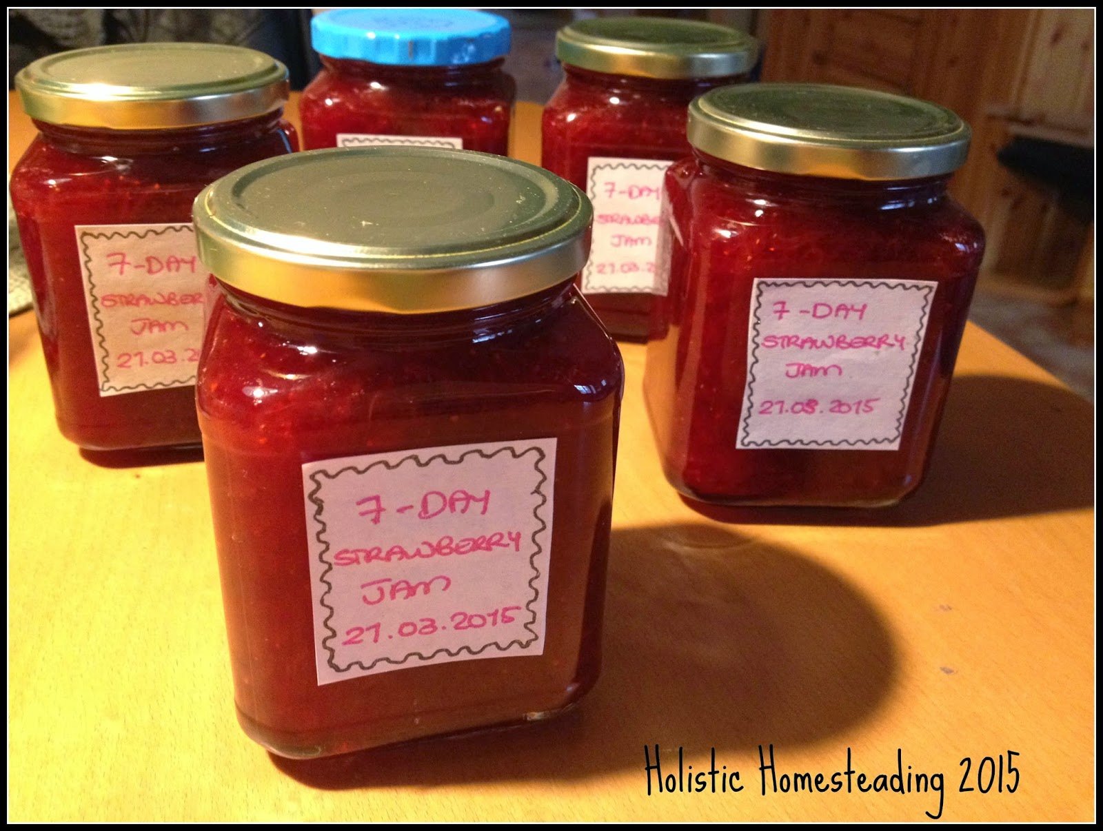 7 day strawberry jam