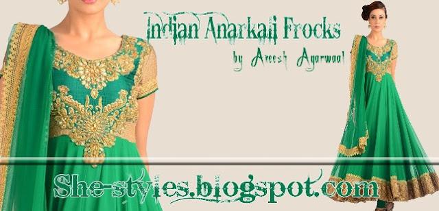 Indian Anarkali Frock