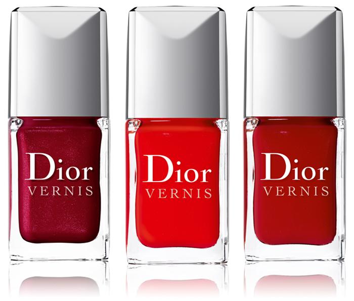 Nuevos esmaltes de uñas Dior Les Rouges