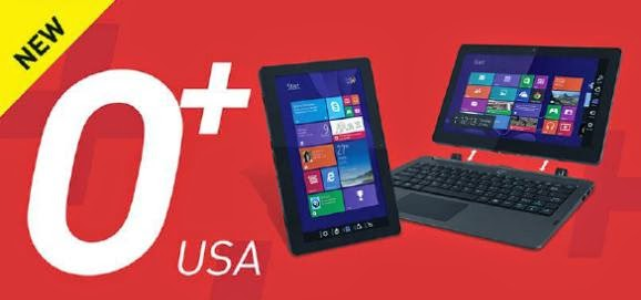 O+ Convertible, 2-in-1 Windows 8.1 Device for Php15,995