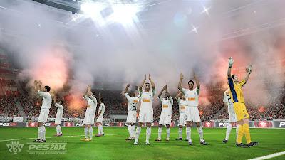 PES 2014: Santos flares