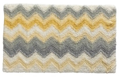 ... Yellow 2pc Bath Rug Set New. It S No Use Saying We Are Doing Our Best  Life Realized. Grey Chevron Rug