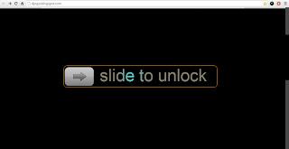 Membuat Slide to Unlock diBlog