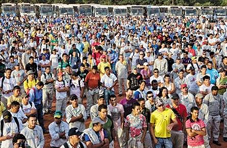 BRASIL: REVOLTA DE TRABALHADORES EM RONDÔNIA