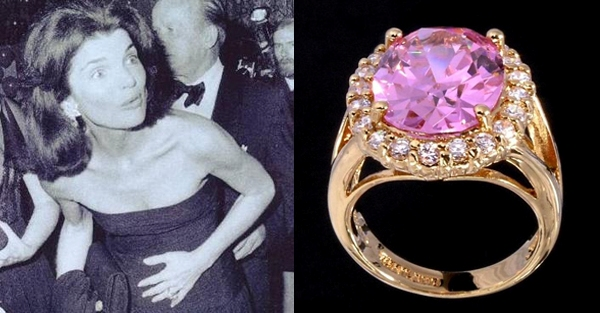 Exceptionnel Jackie Kennedy Kunzite Ring