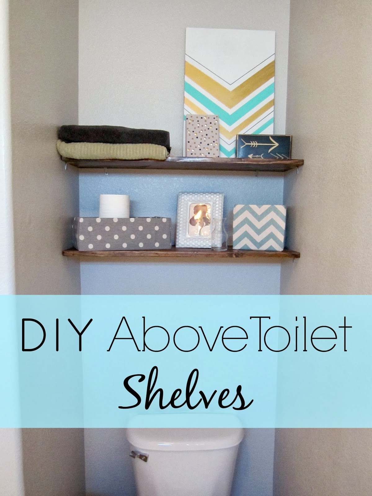 Restoration Beauty Diy Above Toilet Shelves