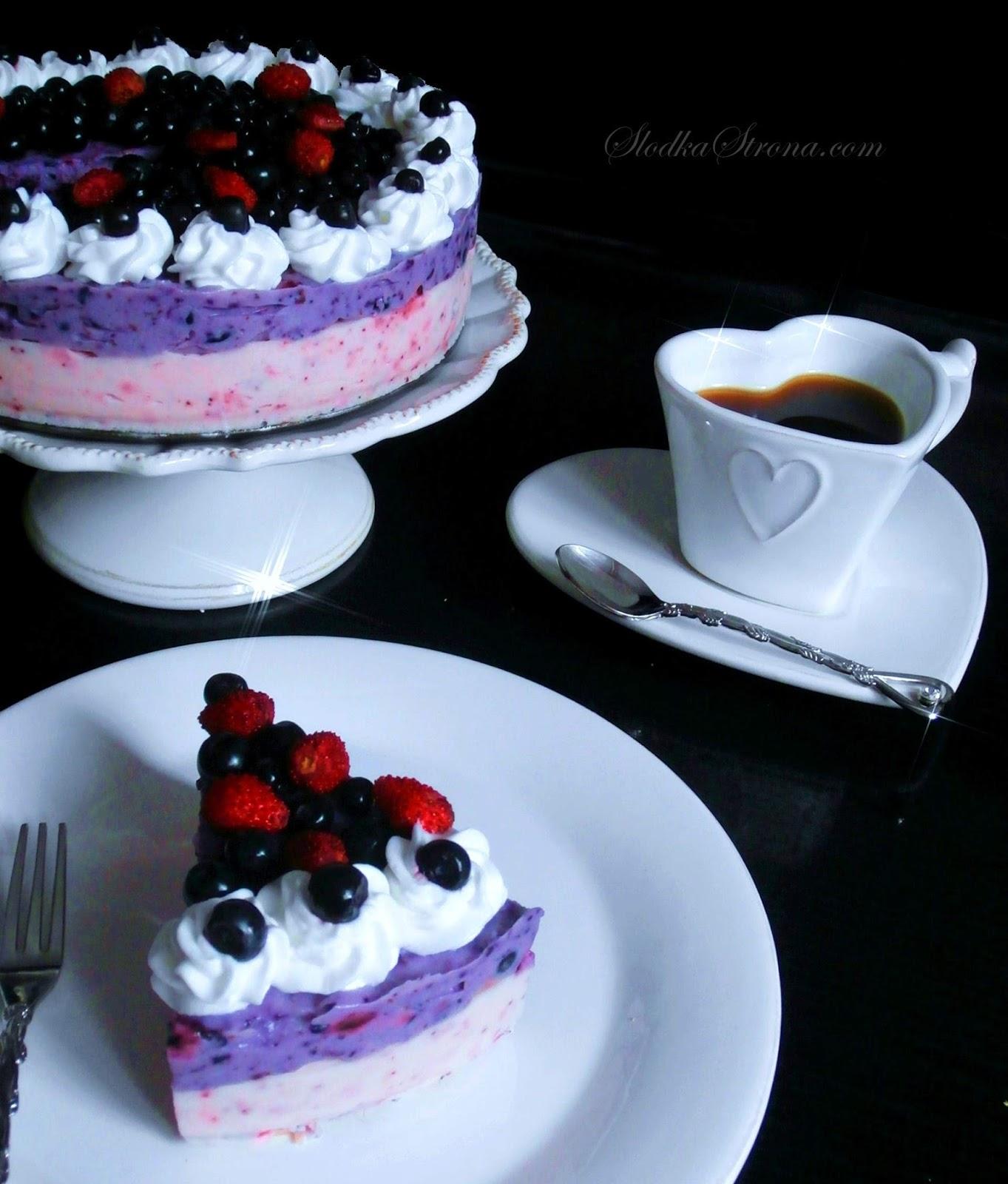 ciasto poziomkowe ciasto jagodowe