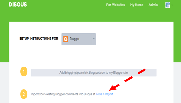 adding disqus comment system to blogger