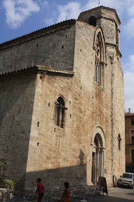 Church of San Vicenç in Besalú
