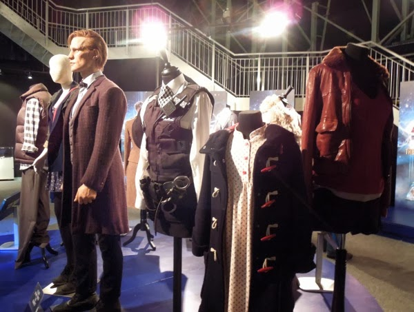 Original Doctor Who Amy Pond costumes