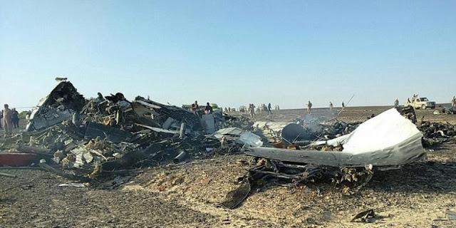 Intelijen AS Sebut Tak Ada Bukti Aksi Teroris dalam Jatuhnya Pesawat Rusia