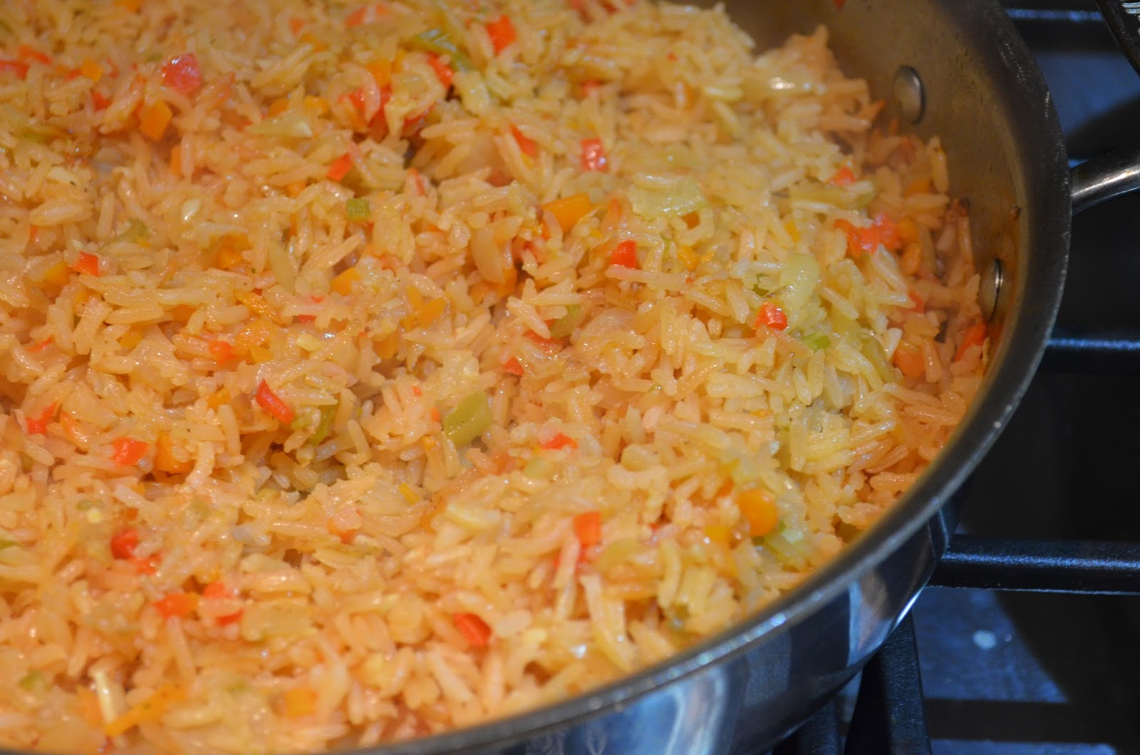 Restaurant Style Mexican Rice - Serena Bakes Simply From Scratch