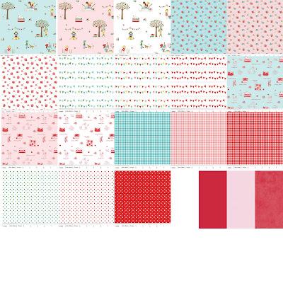 Riley Blake Designs THE SIMPLE LIFE Quilt Fabric by Tasha Noel