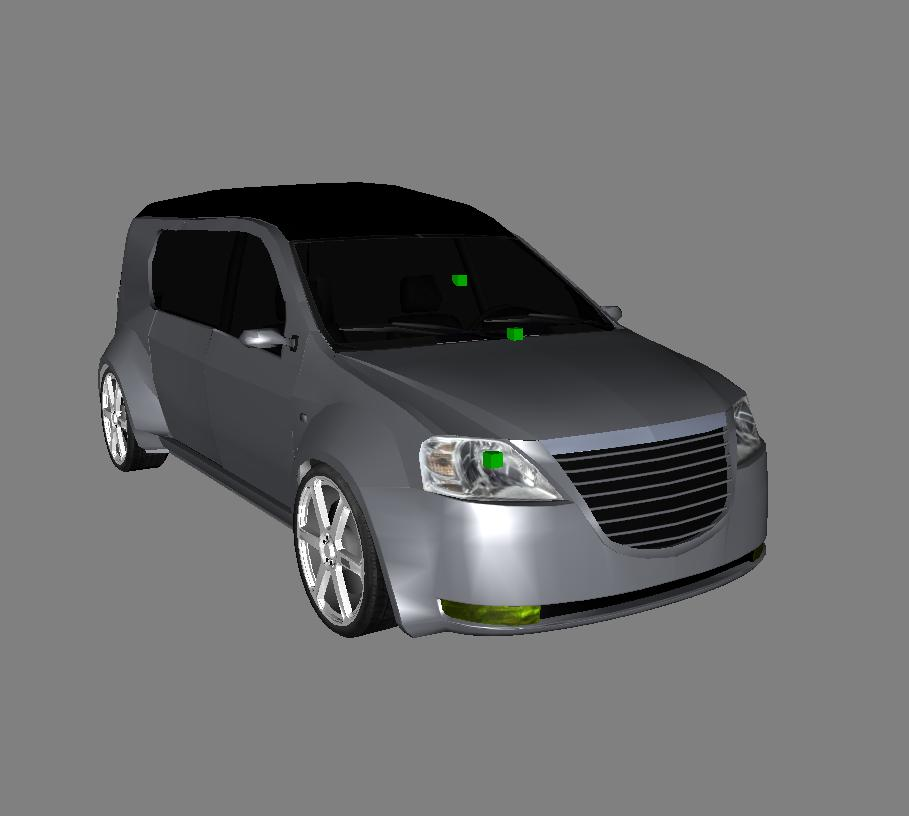 customs cars the game salut zilele trecute m am apucat de modificat dacia logan mcv faceclift. Black Bedroom Furniture Sets. Home Design Ideas