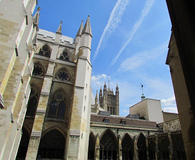 Westminster Abby, cloisters, London, visit,