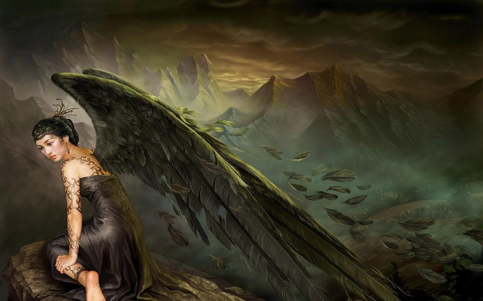 hd best desktop wallpapers angel wallpapers