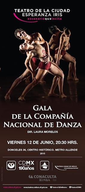 Gala de la Compañía Nacional de Danza en el Teatro de la Ciudad Esperanza Iris