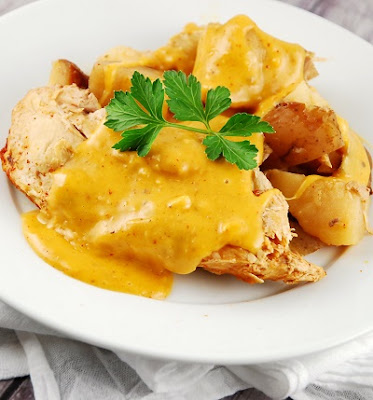 slow cooker chicken cheesy chicken breasts