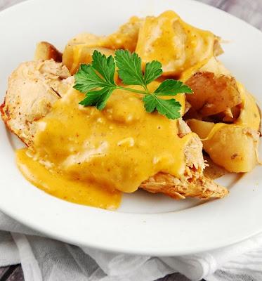 slow cooker chicken cheesy chicken breasts