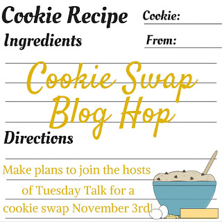 Cookie Recipe Swap - Delicious Dessert Recipes - Tuesday Talk Features - www.sweetlittleonesblog.com