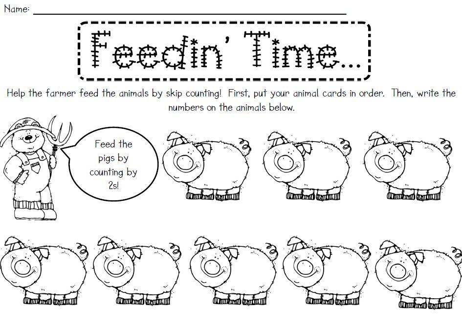 Kindergarten Skip Counting By Tens Worksheets buggy friends – Skip Counting by 10s Worksheets Kindergarten