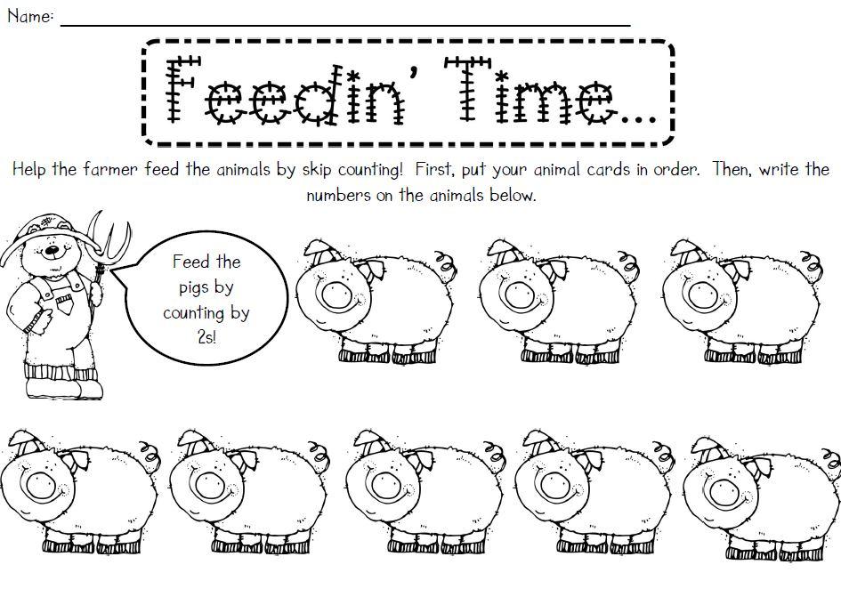 Kindergarten Skip Counting By Tens Worksheets buggy friends – Skip Counting Worksheets Kindergarten