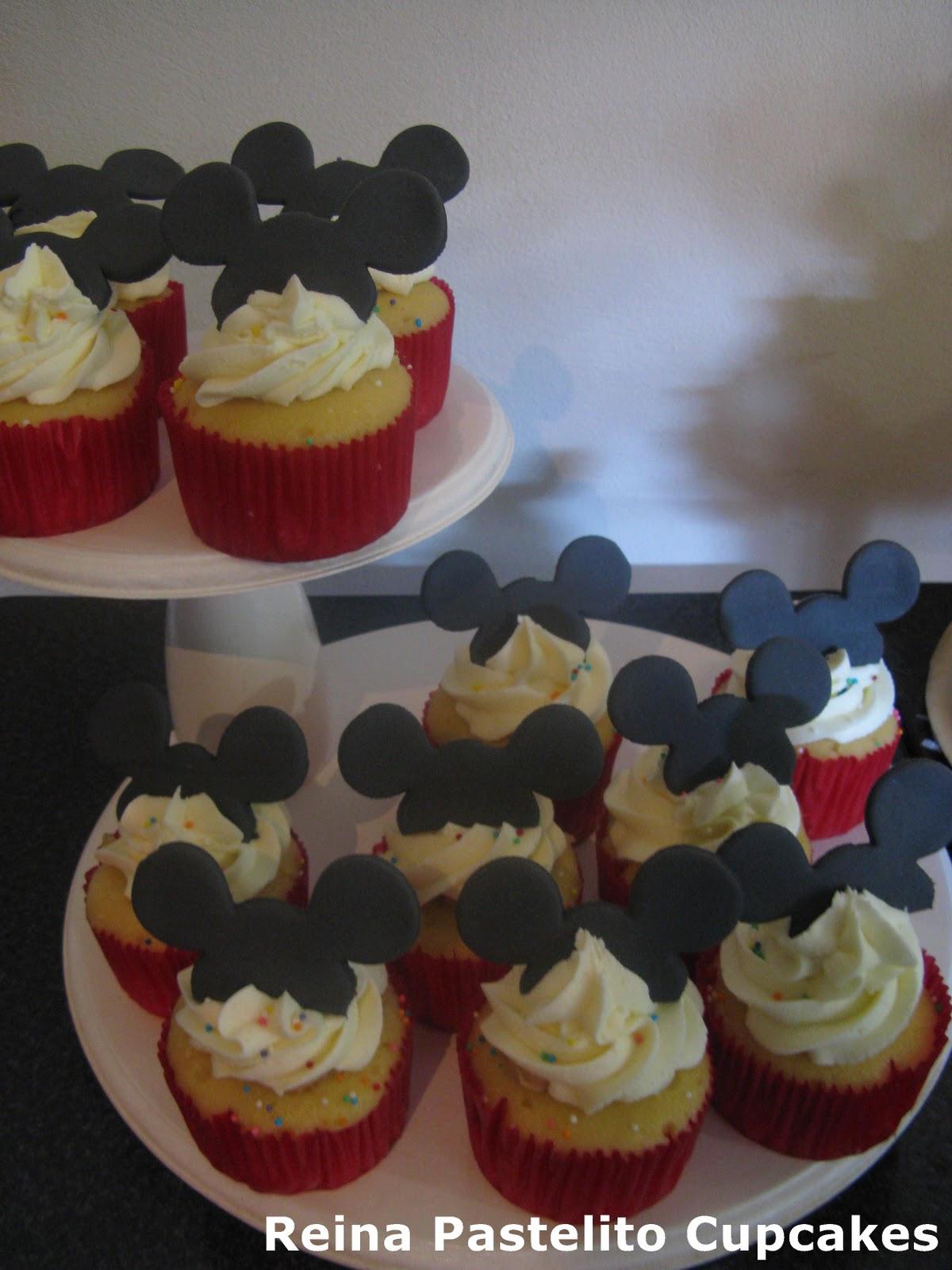 Etiquetas  Cupcakes Mickey   Torta Mickey