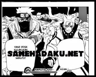 Baca Komik Naruto 608 Bahasa Indonesia Terbaru