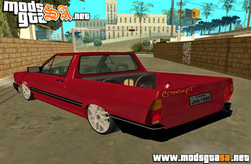 SA - Vw Saveiro GL 1989 Edit