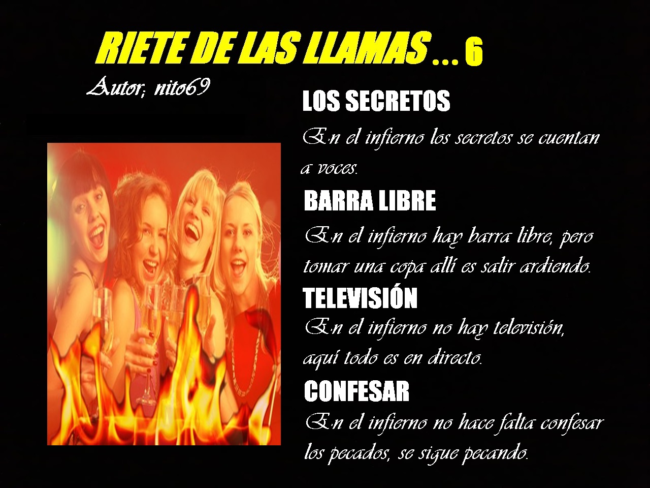 RIETE DE LAS LLAMAS…6