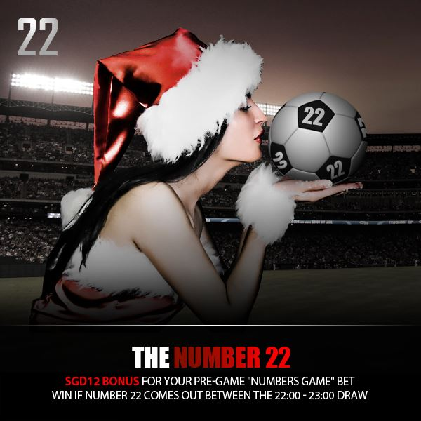 Join the 22 days left Dafabet Facebook Christmas Countdown Promo.
