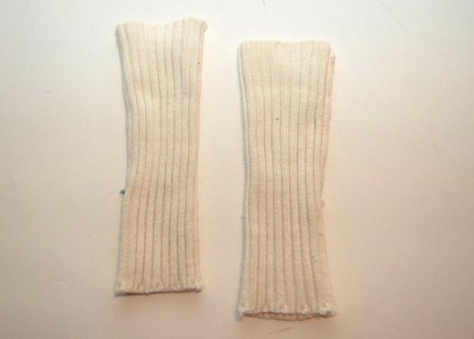DIY: Sweater Arm Warmers, Leg Warmers, Headband & Circle ...