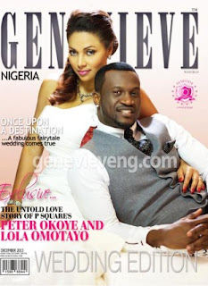 Peter and Lola Covers New Edition of Genevieve Magazine .