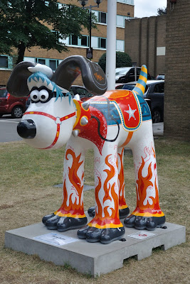 Blazing Saddles Gromit (side view)