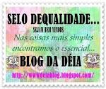 Este selo é p/ alguns blogs que gosto muito...