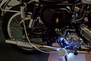 A unique LED flexible work light for motorcycles