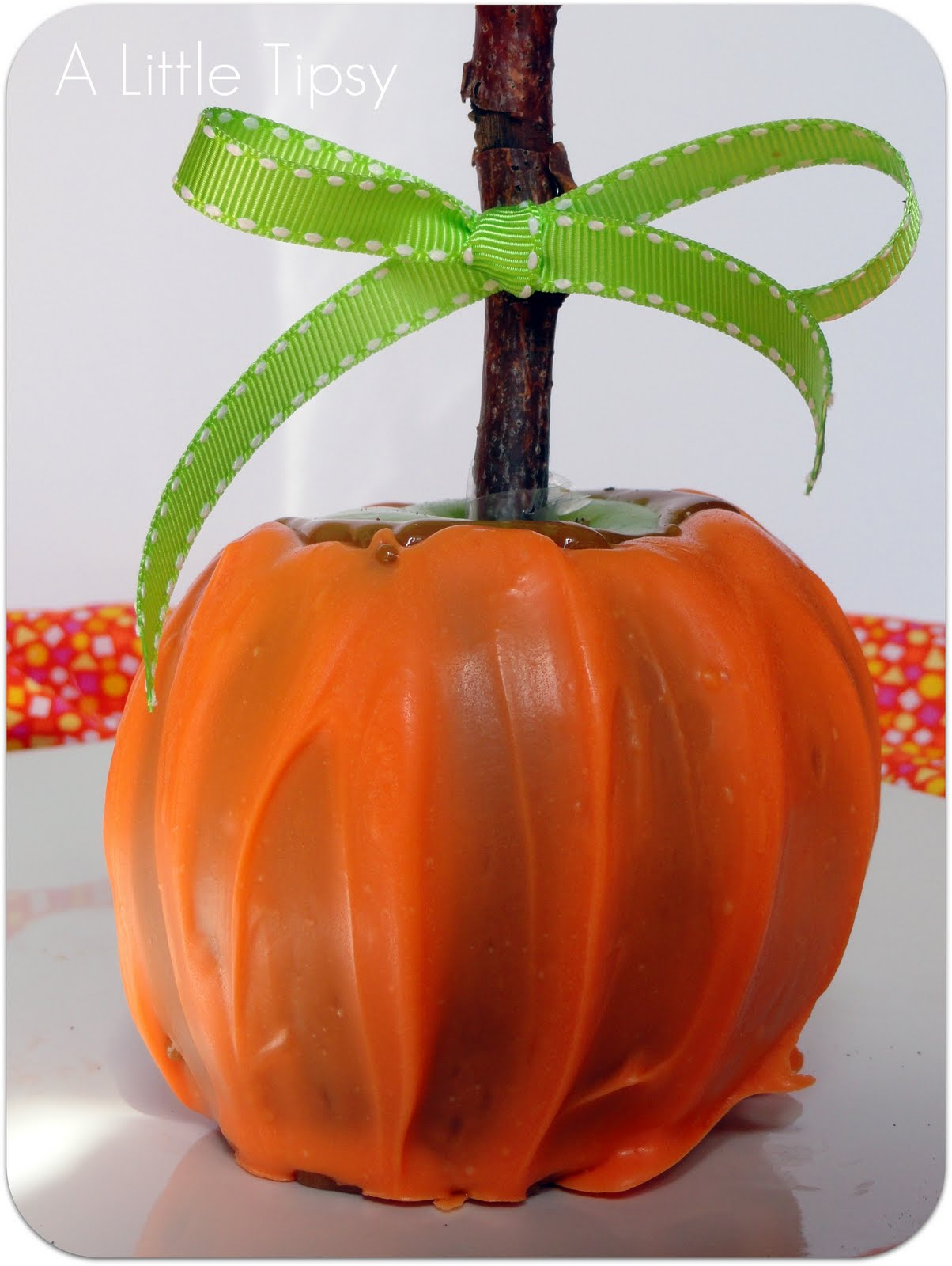 Caramel apple recipe for point of view autumn theme a for Caramel apple recipes for halloween