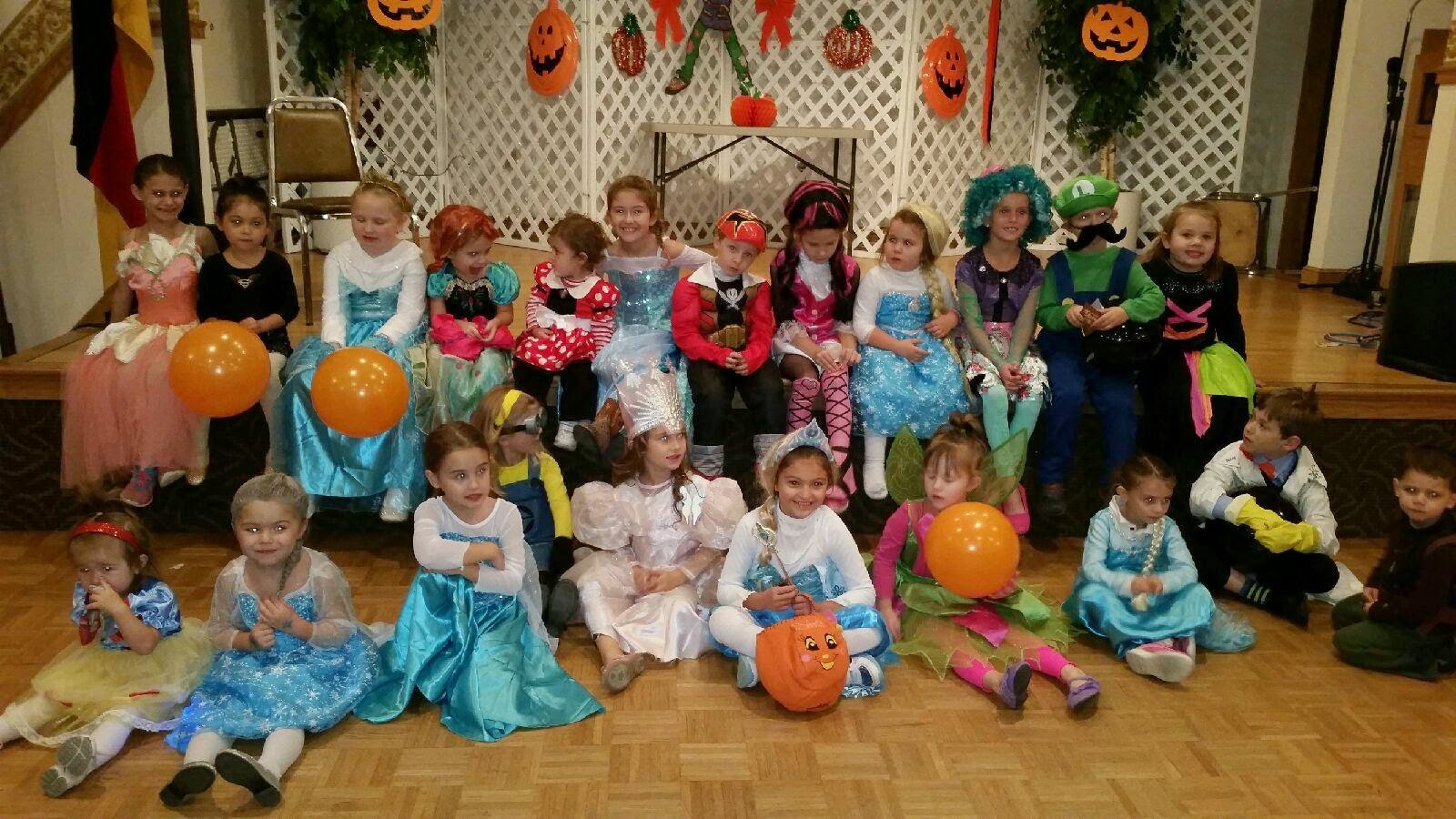 Akron German Family Society Blog: Kindergruppe Halloween Party ...