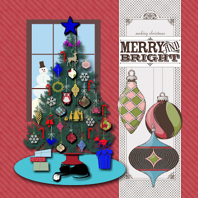 My Digital Studio Christmas Scrapbook Pages
