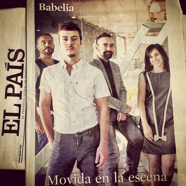 José Padilla, Paco Bezerra, Carlos Be y Denise Despeyroux