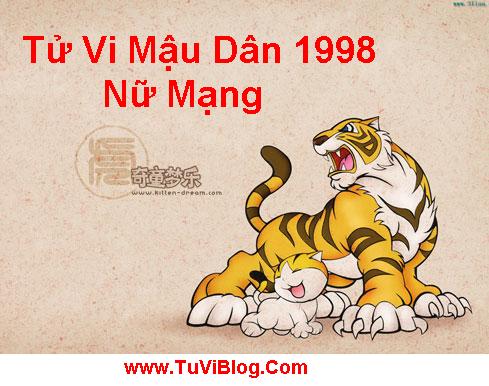 Tu Vi Mau Dan 1998 Nu Mang