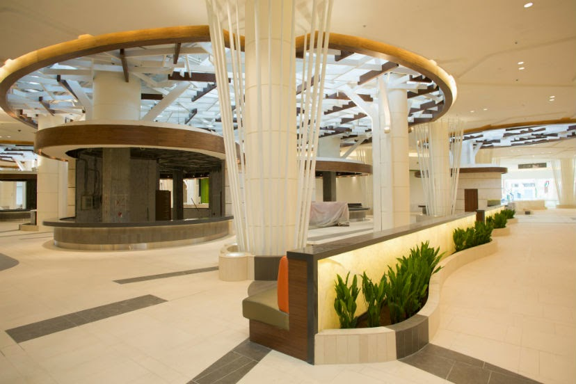 The food court at Abu Dhabi's Yas Mall