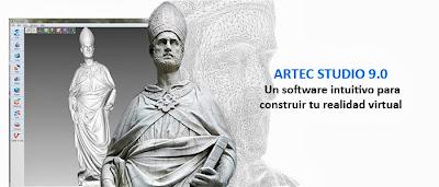 Artec Studio es un software para construir tu realidad