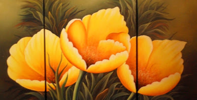 Imagenes De Cuadros Tripticos Con Flores - Galerías de Fotos GALERIA DE CUADROS Y TRIPTICOS
