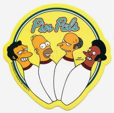 What inspired band name Pinmonkey - Homer Simpson - pinpals