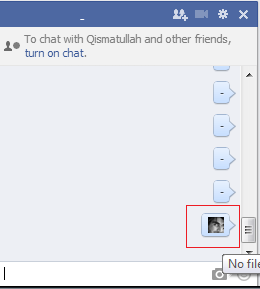 facebook chatting box trick