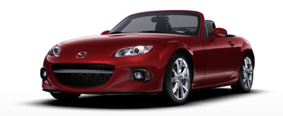 2013 Mazda MX-5 Miata red